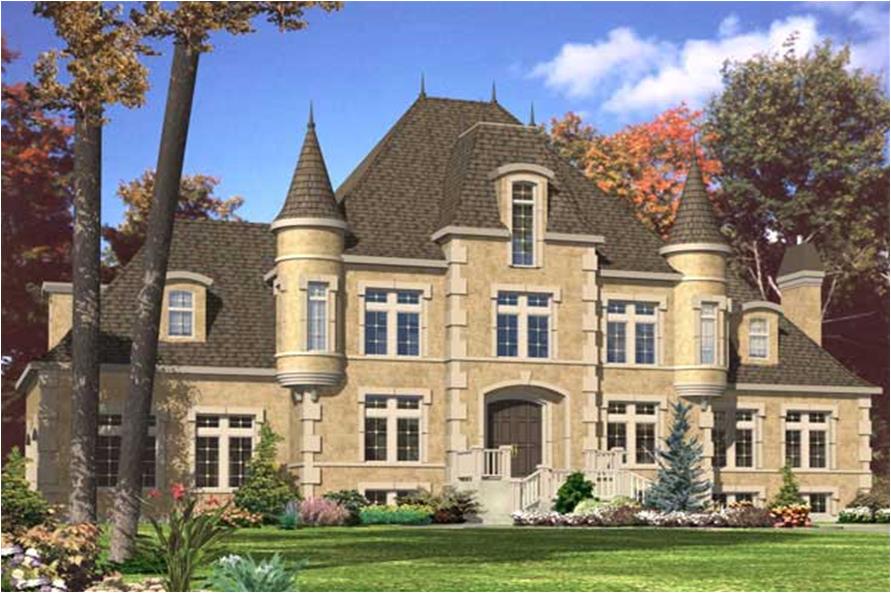 home plan 25673