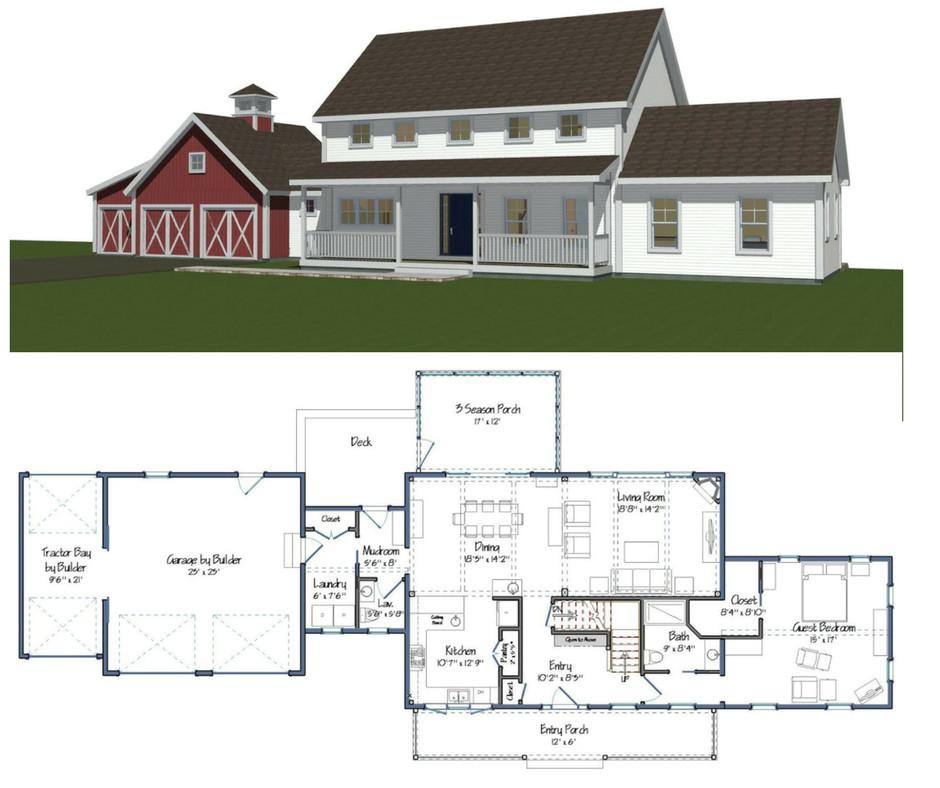 new yankee barn homes floor plans