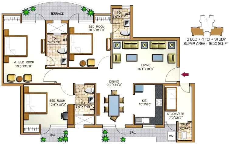 aditya celebrity home floor plan