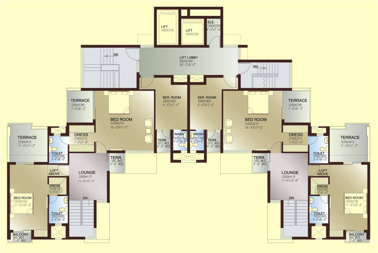 floor plans of famous houses