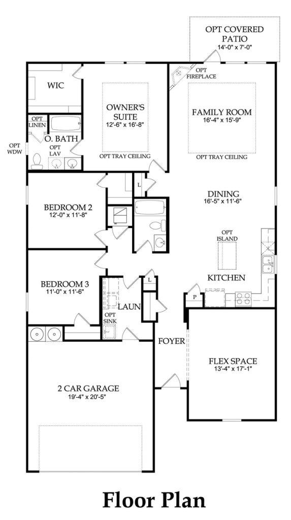 centex home floor plans