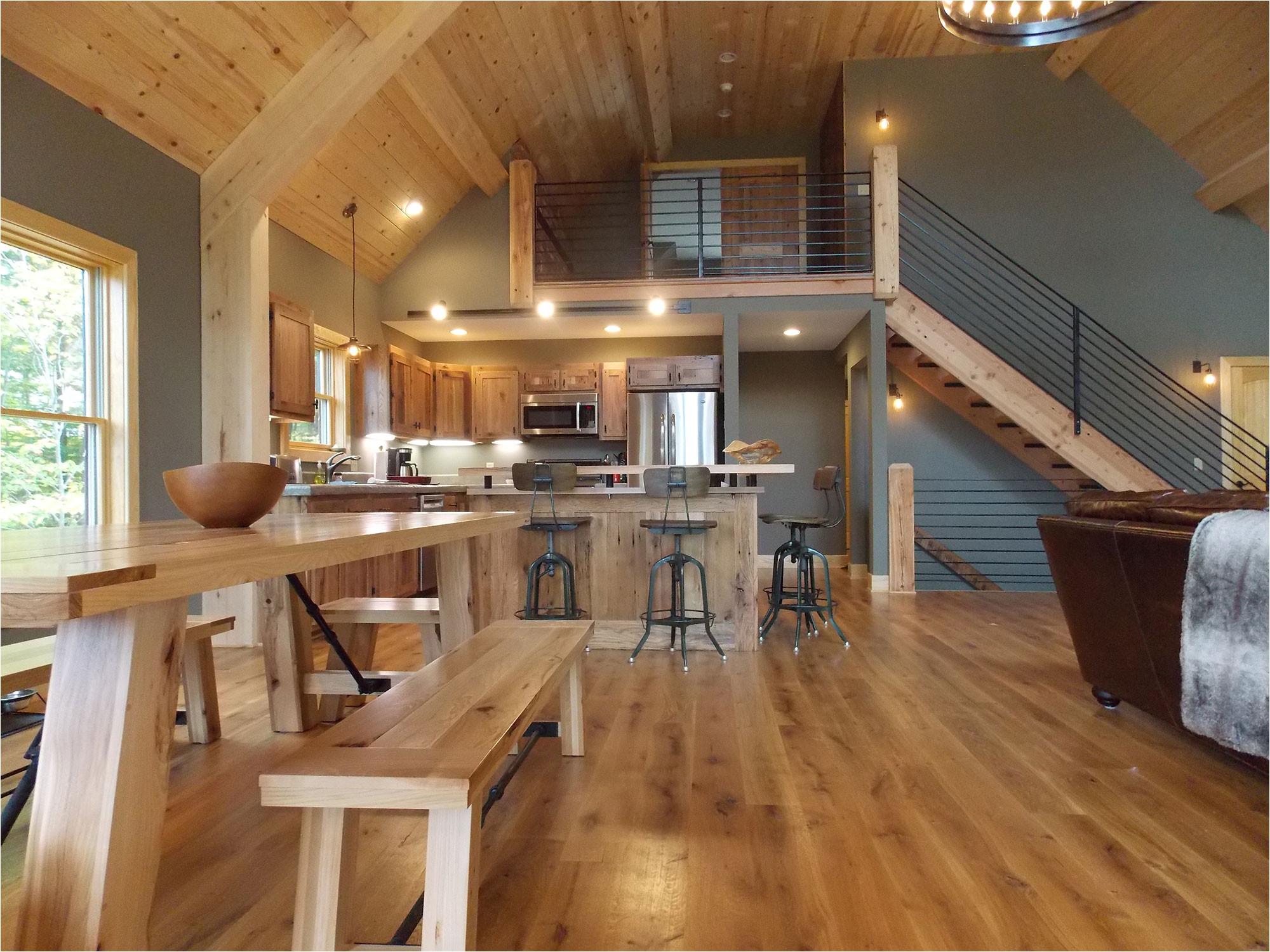 photos of small cabin interiors