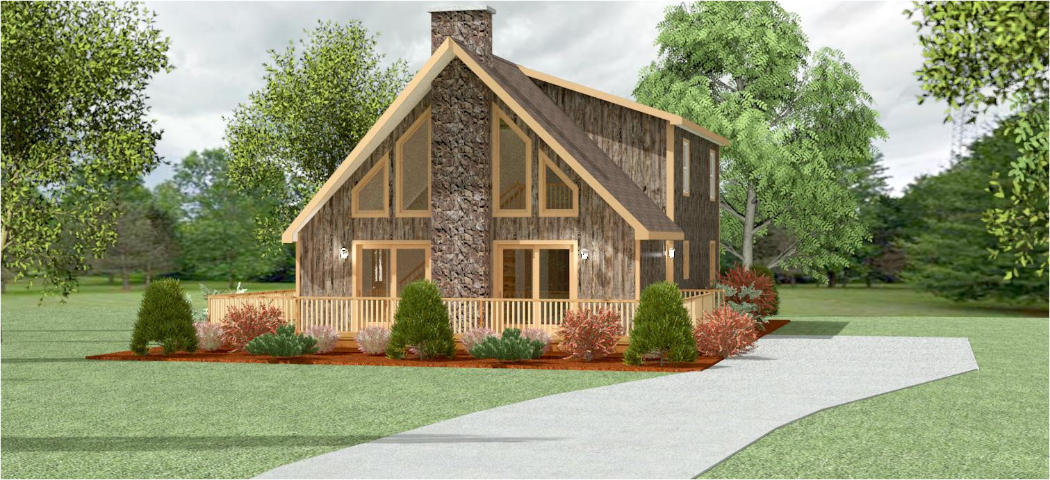 swiss chalet style home plans
