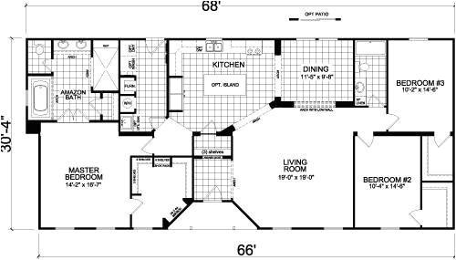champion mobile homes floor plans