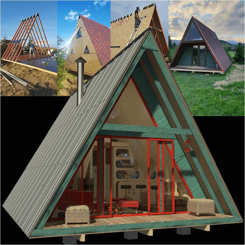 a frame tiny house plans alexis