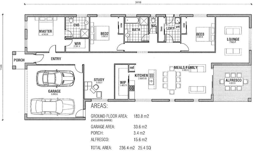 cherokee nation housing floor plans 3 bedroom