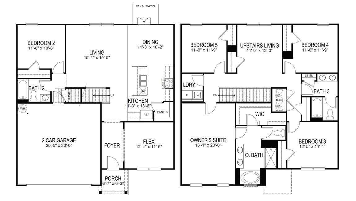 cherokee nation housing floor plans 4 bedroom