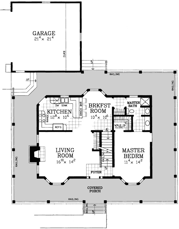 Classic American Homes Floor Plans American Classic House Plan 81418w Architectural