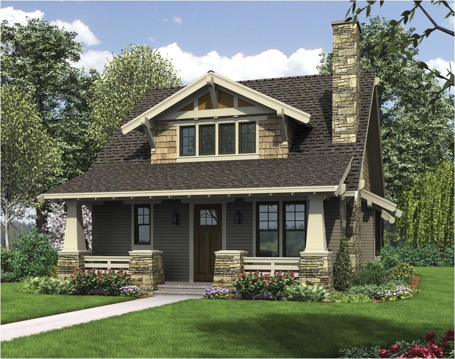 house plan craftsman bungalow