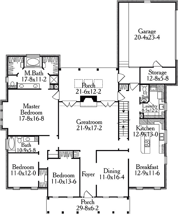 classic home floor plans best of classic american home plan 6219v architectural designs house