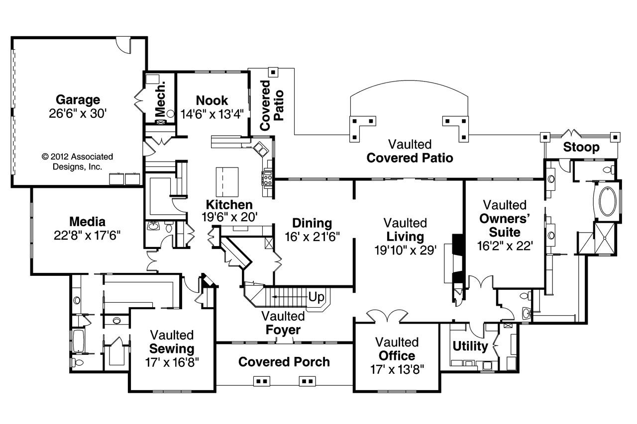 Classic Homes Floor Plans Classic House Plans Laurelwood 30 722 associated Designs