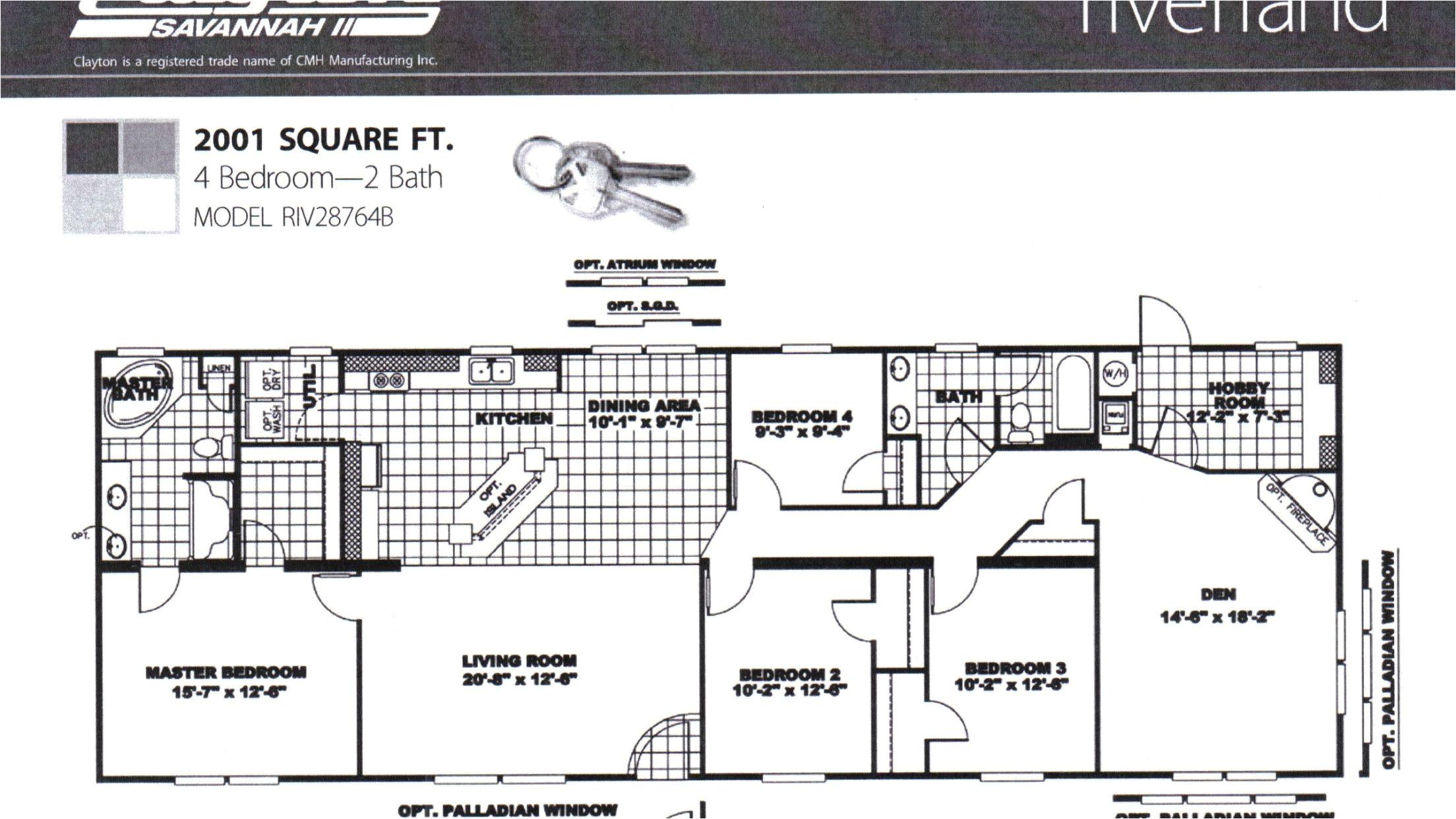 clayton homes floor plans texas
