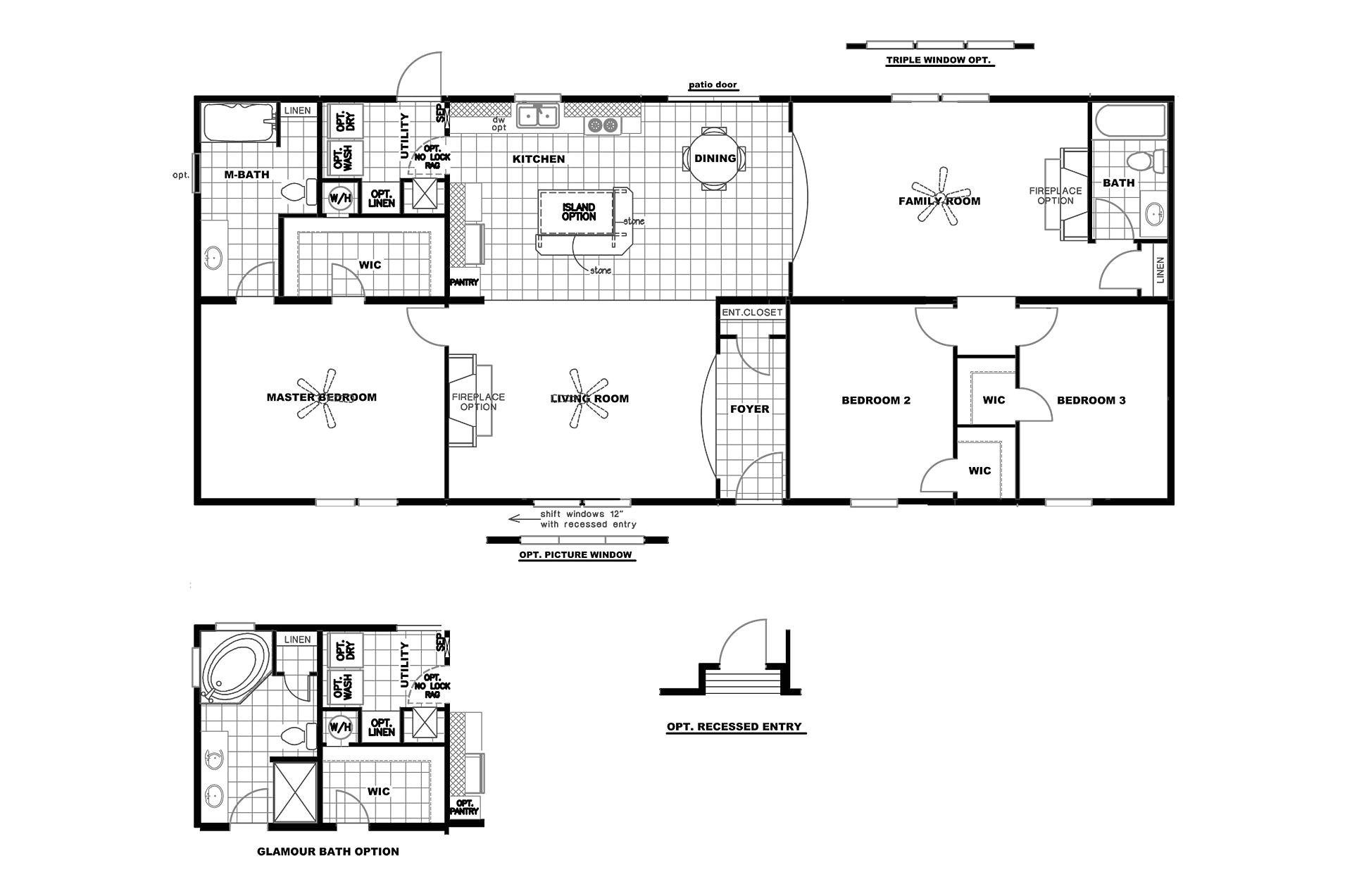 floor plans for clayton mobile homes