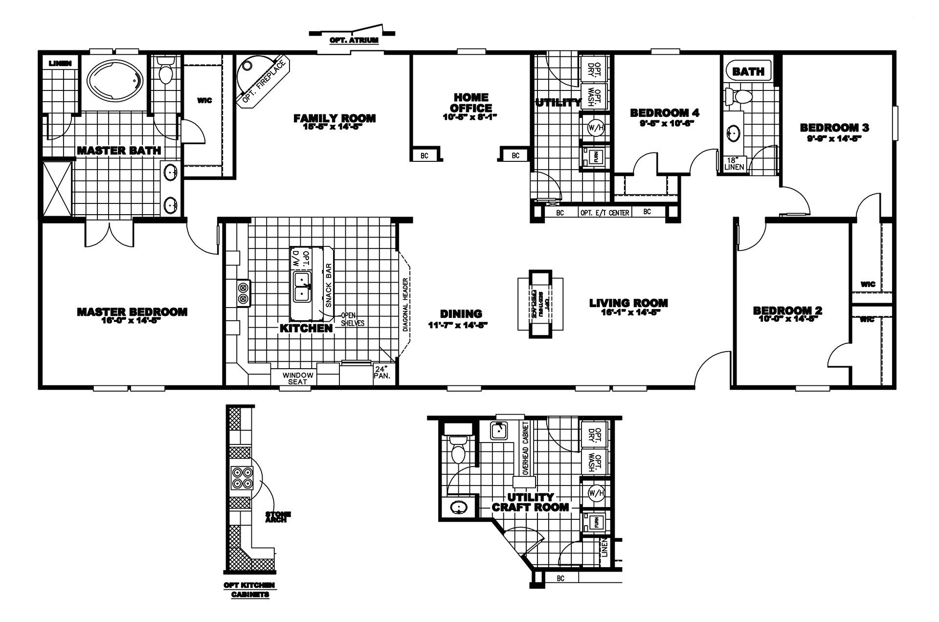Clayton Mobile Homes Floor Plans Clayton Della Mmd Bestofhouse Net 11971