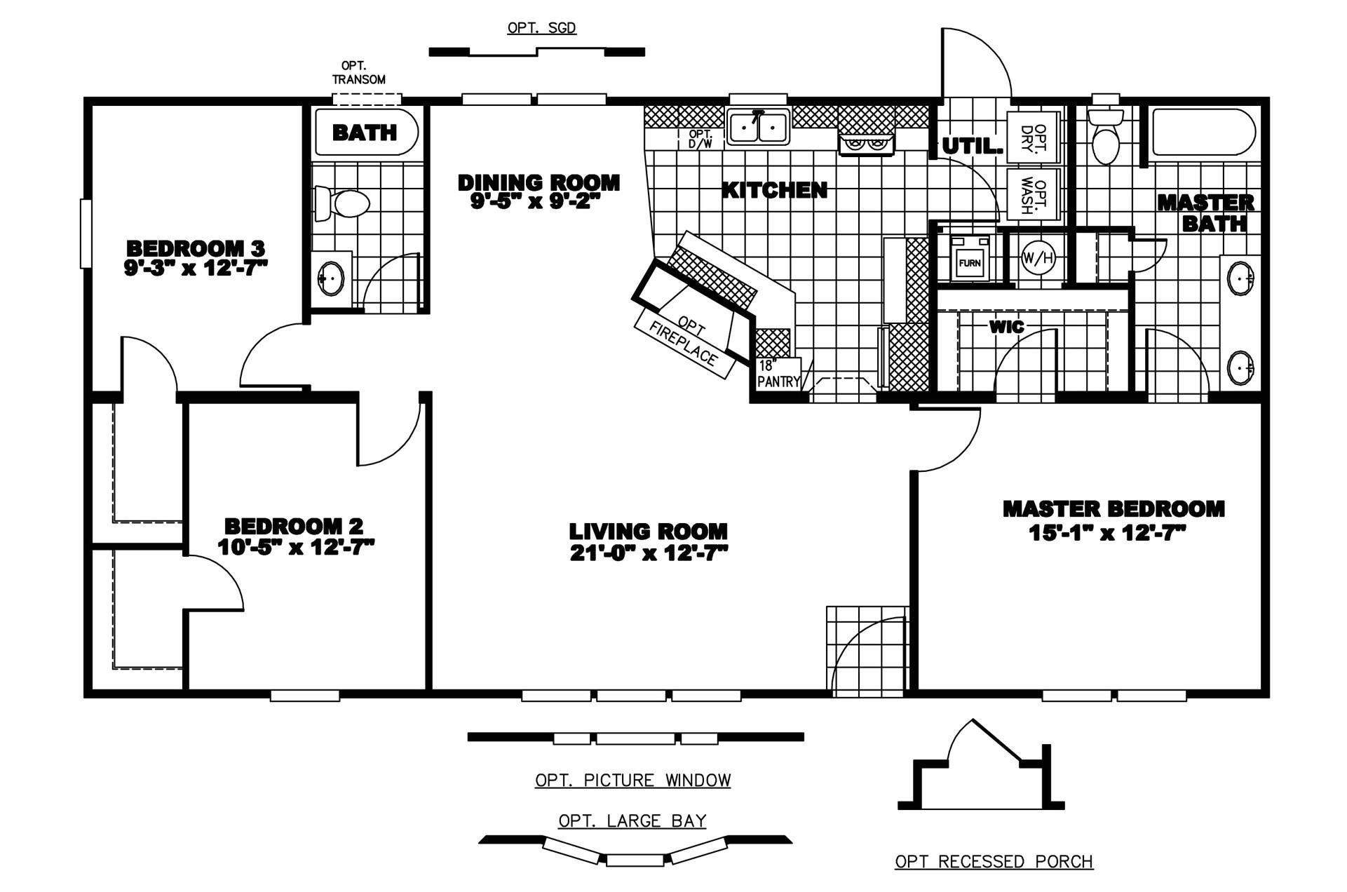 Clayton Mobile Homes Floor Plans Clayton Gaston Manor Gma Bestofhouse Net 32508