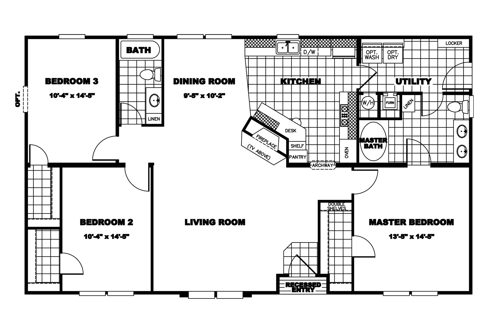 clayton homes floor plans house mobile 265794