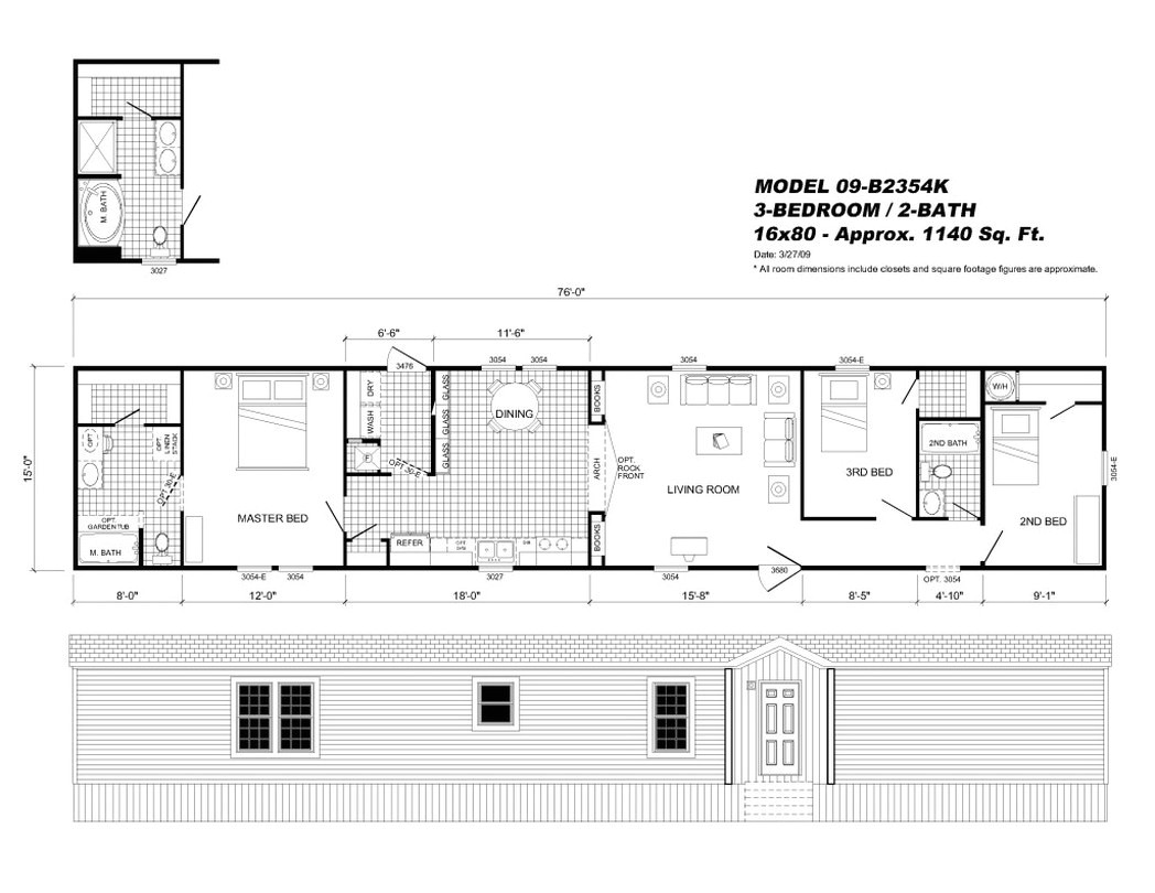 clayton mobile homes floor plans single wide home flo 512776
