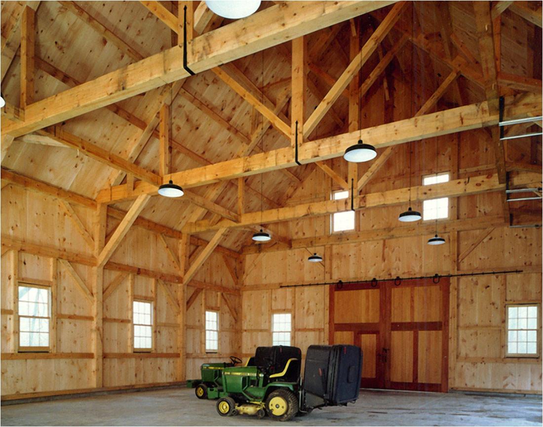 king post barn
