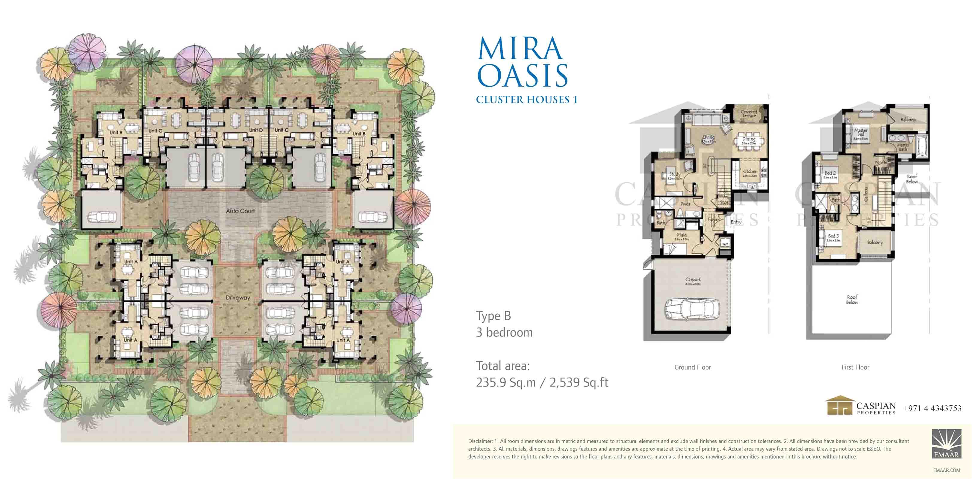oasis 1 floor plans