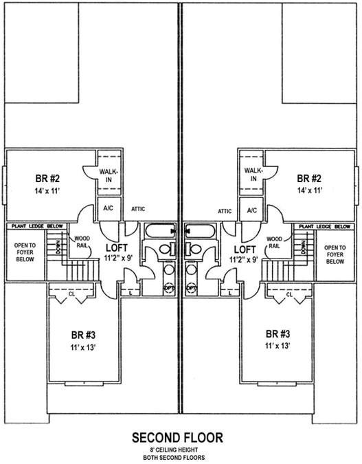 coastal duplex designs