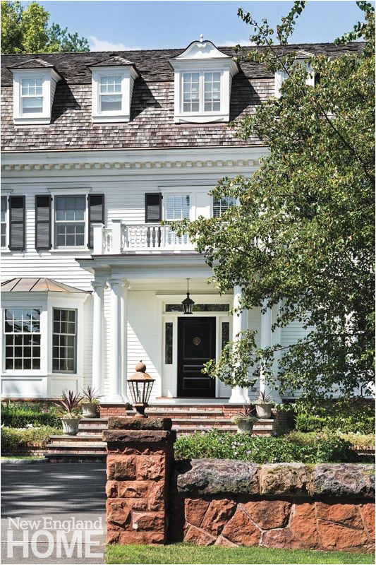 colonial homes magazine house plans
