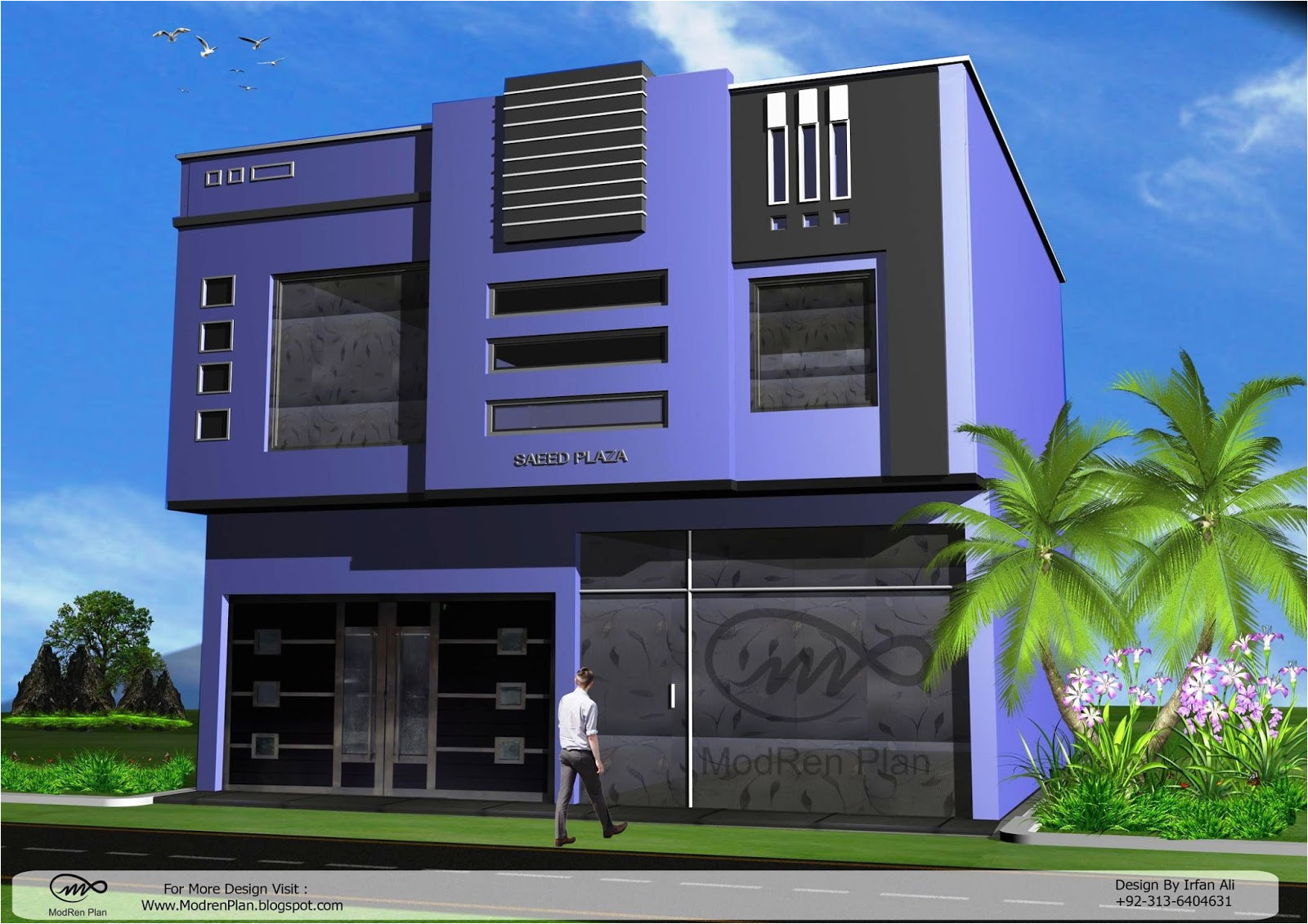 modern commercial building designs and