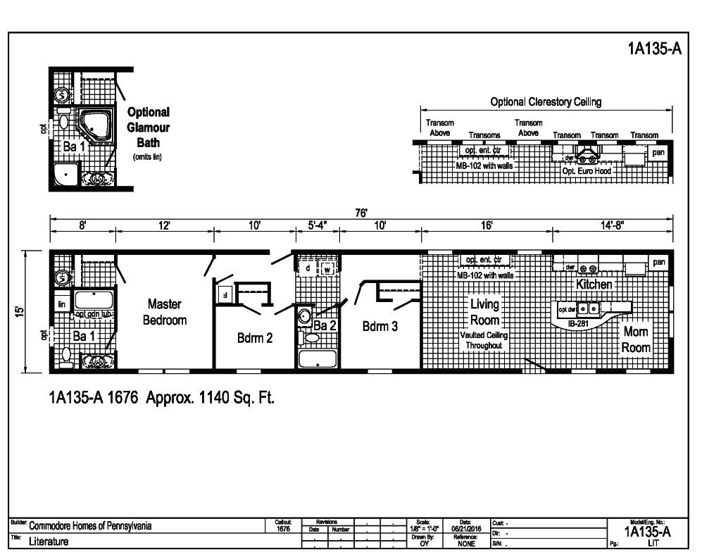 commodore homes floor plans