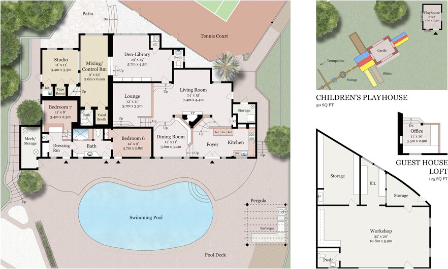 compound home plans new house plans