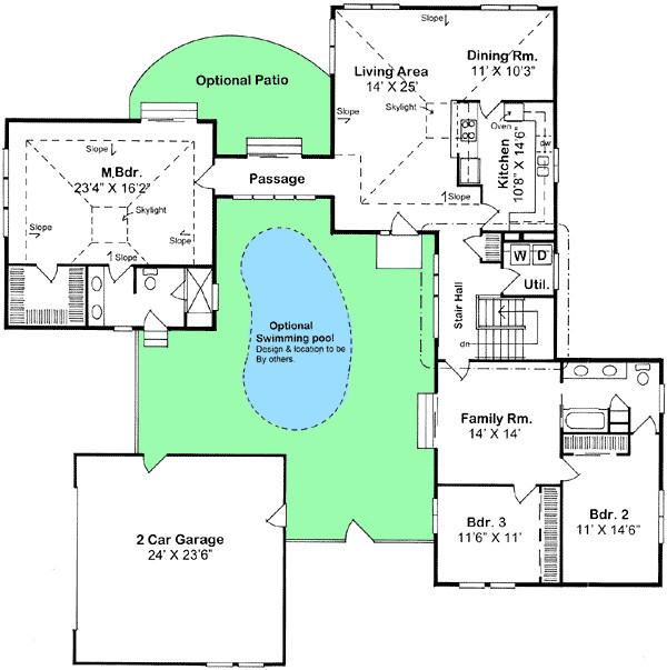 Compound Home Plans Creative Compound 11017g Architectural Designs House