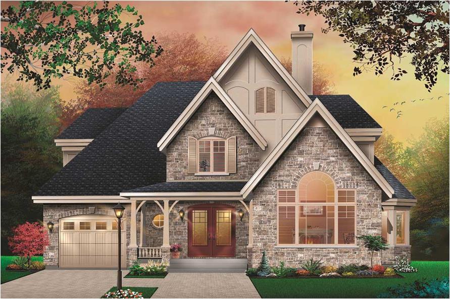 home plan 25591