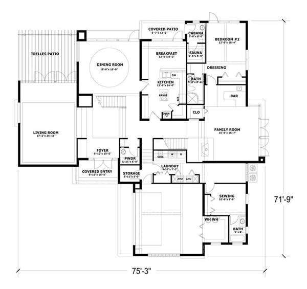 concrete block home plans