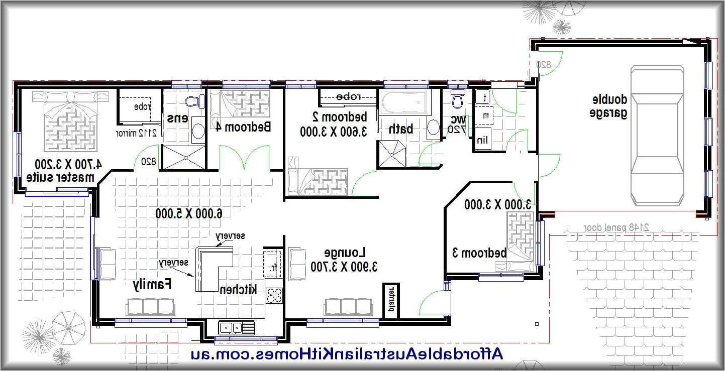 small cinder block house plans