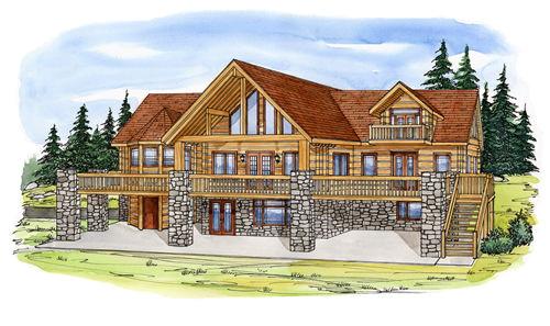 Concrete Log Home Plans Concrete Log Home Floor Plans by Everlog Systems