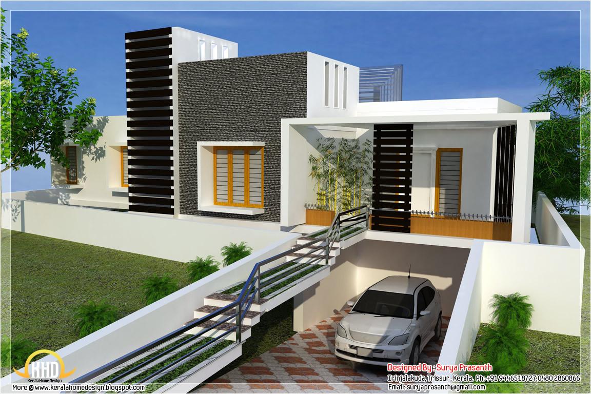 Contemporary Home Design Plans New Contemporary Mix Modern Home Designs Kerala Home