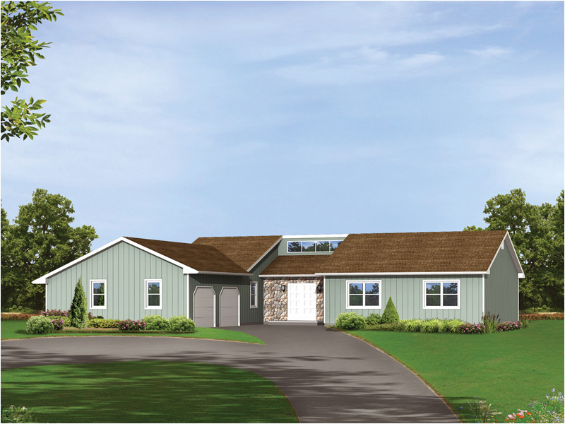 Contemporary Ranch Home Plans Sienna Contemporary Ranch Home Plan 001d 0083 House