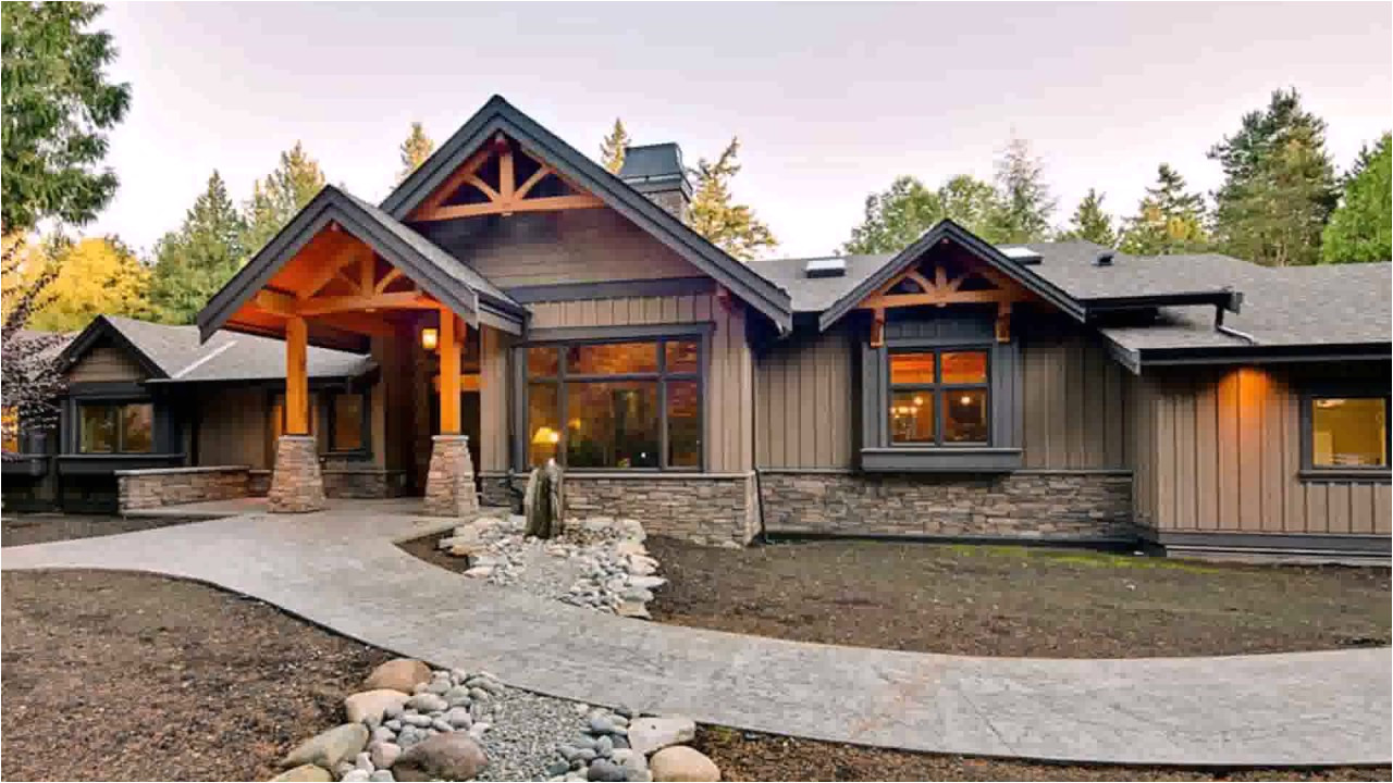 modern ranch style home plans