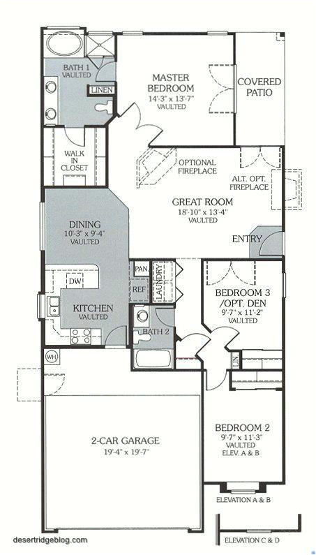 continental homes floor plans