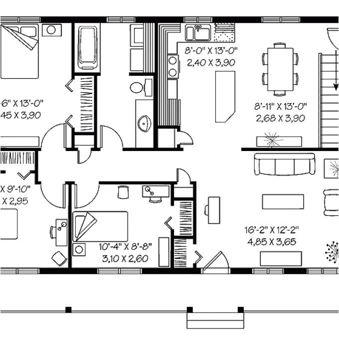 cost effective open floor plans
