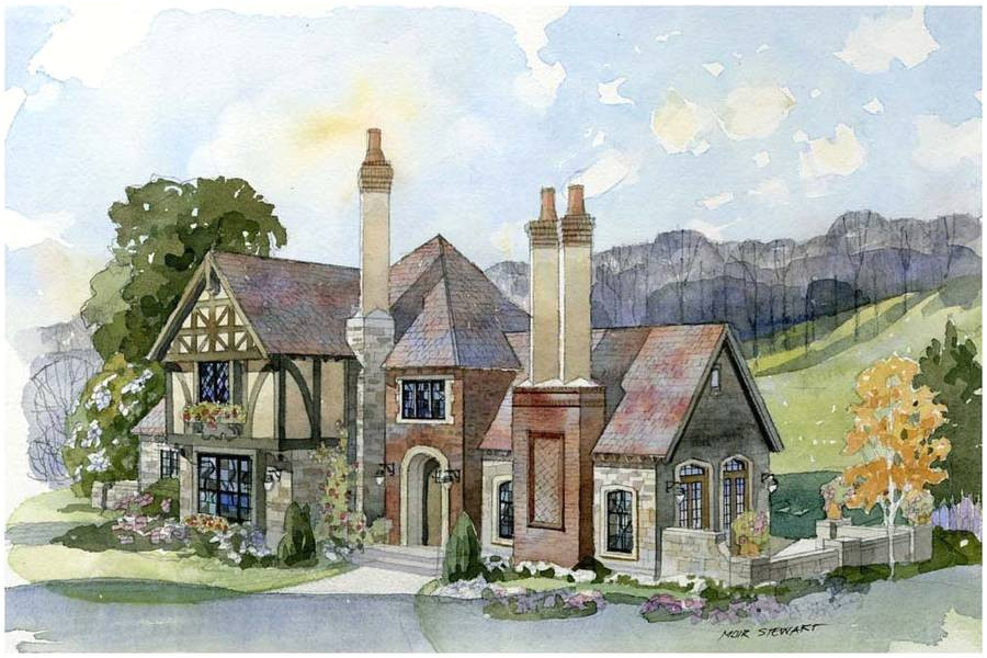 english cotswold cottage house plans