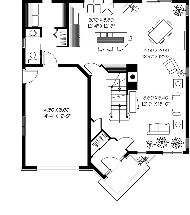 2000 square foot cottage house plans