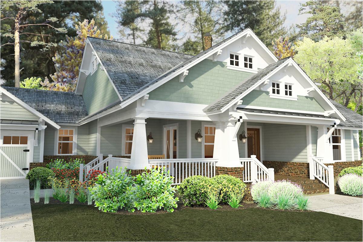 exclusive craftsman cottage house plans