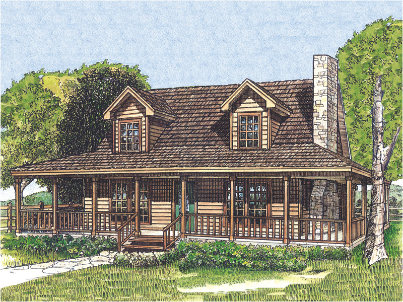 rustic country house plans wrap around porch