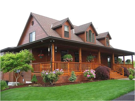 country cottage house plans with wrap around porch