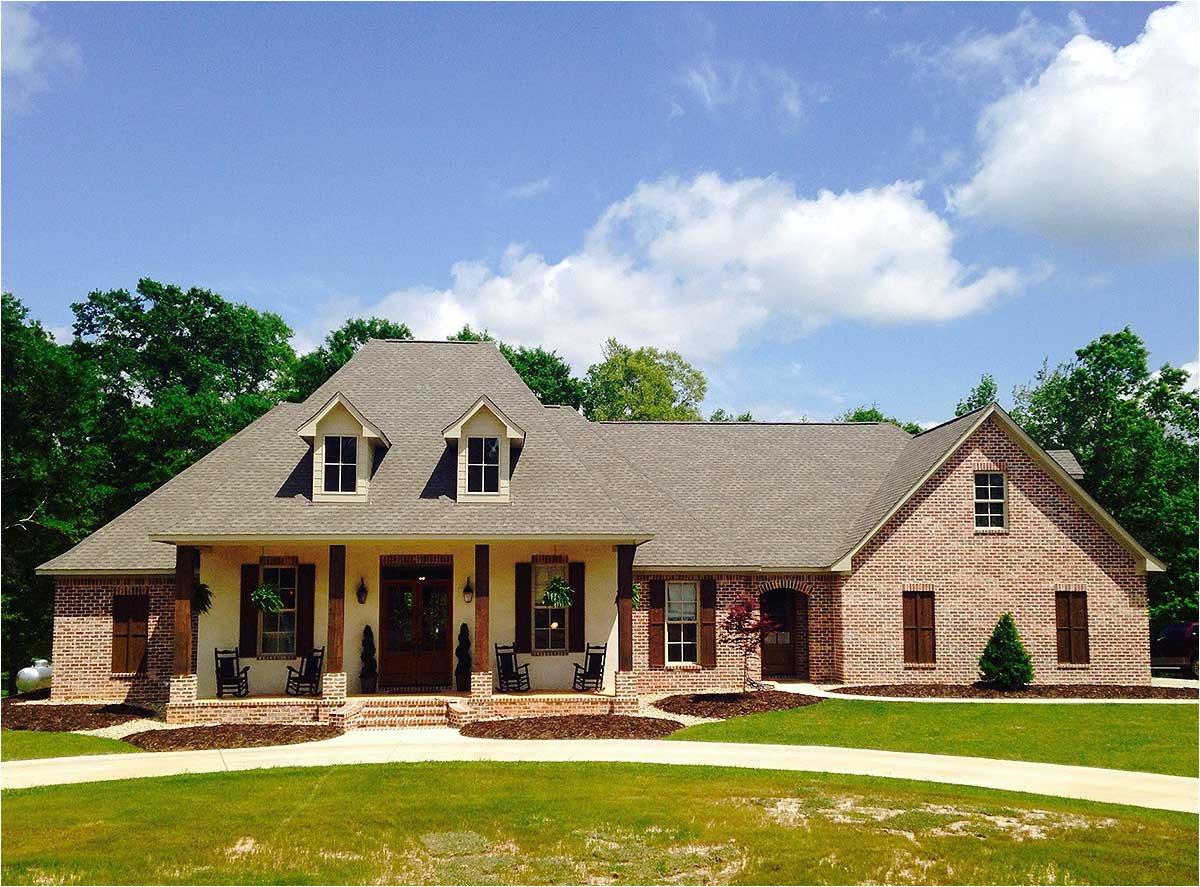 french country home plan with bonus room 56352sm