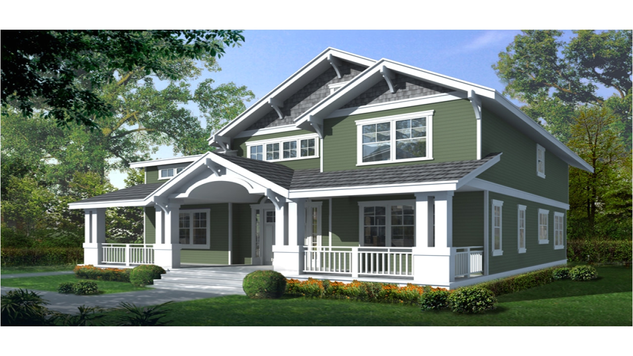 04bb0377c1dcfdf1 craftsman bungalow house two story craftsman house plan with front porch