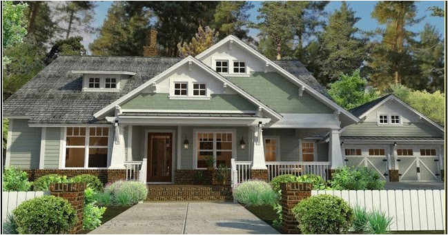 craftsman house plans with porch