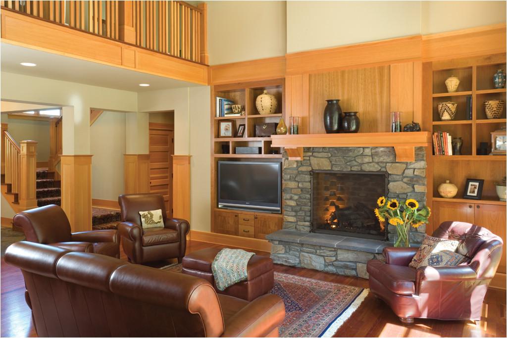 craftsman home interior design