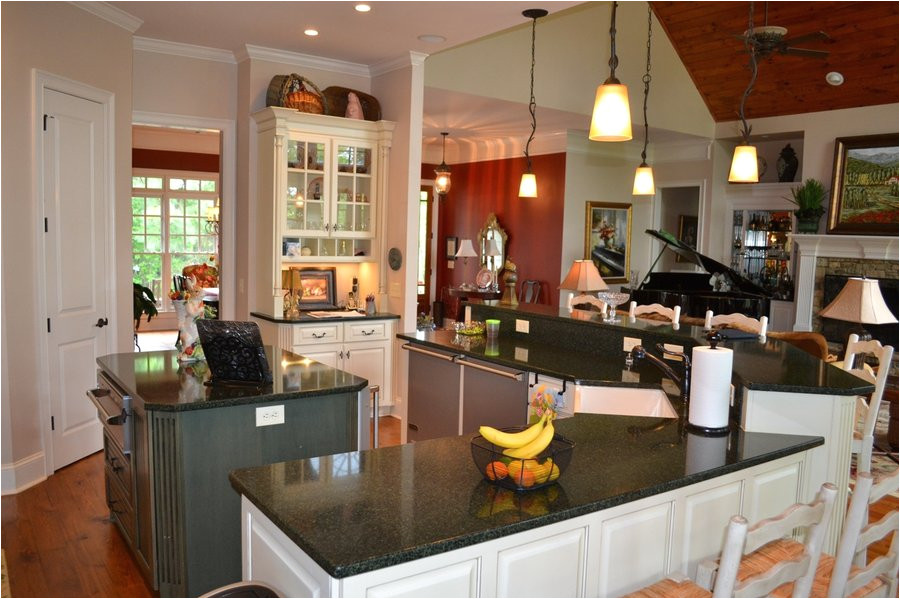craftsman house plans with interior photos kitchen