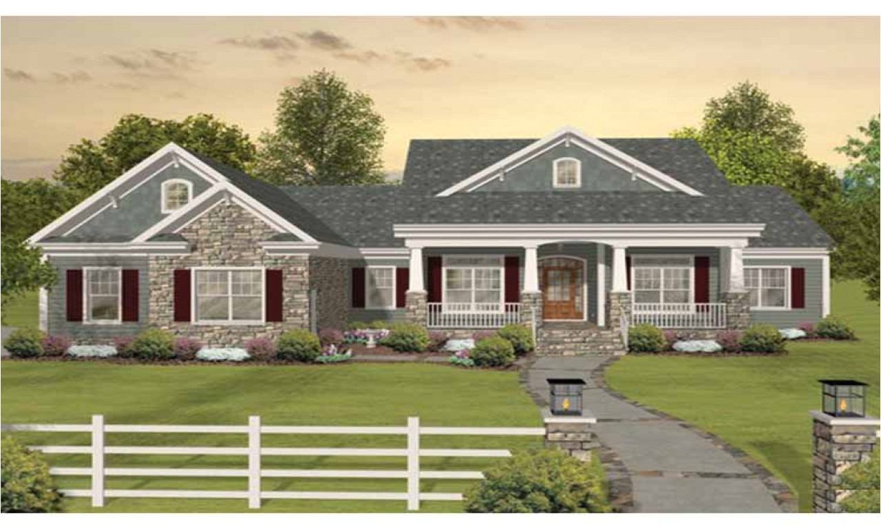 e3ced1f63873d169 craftsman one story ranch house plans one story craftsman style home elevations