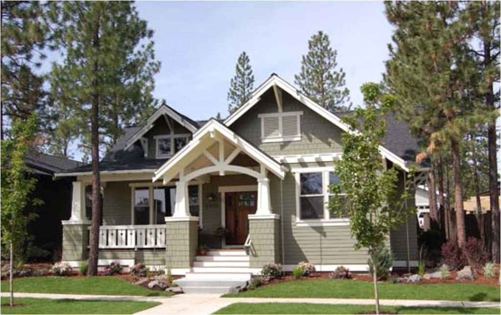 craftsman style single story house plans usually include wide front porch